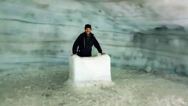 Into the Glacier Chapel