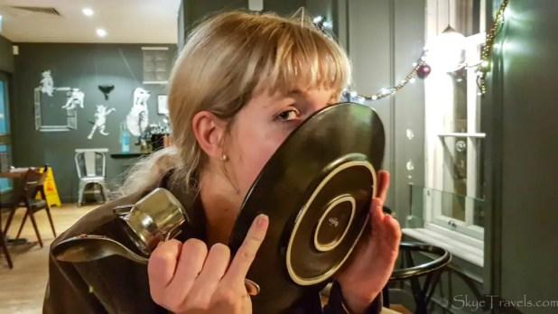 Licking Plates at Zizzi