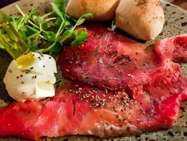 Salmon at Zizzi