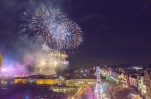 Edinburgh's Hogmanay 2018 Midnight Moment (c) Chris Watt