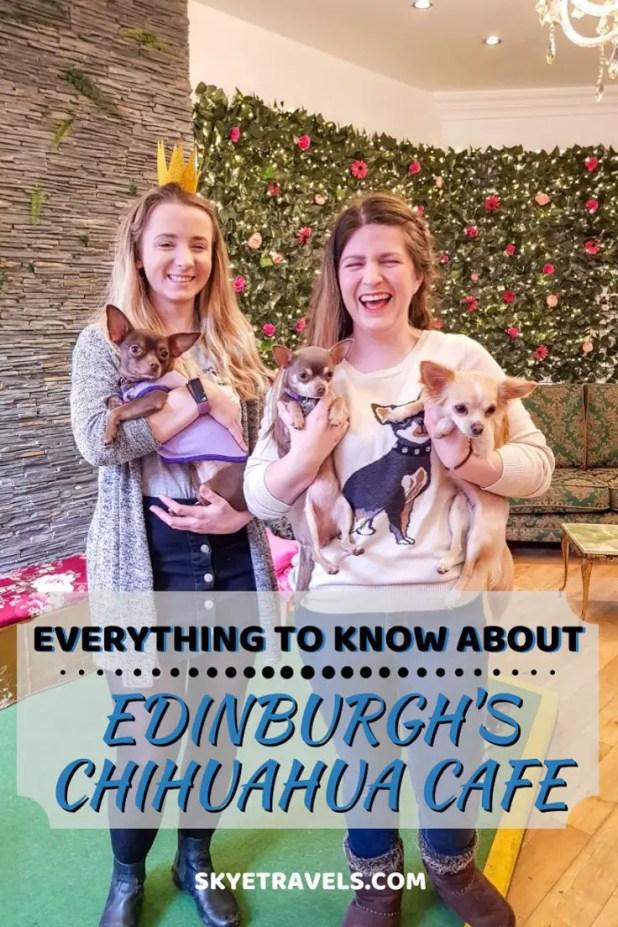 Edinburgh's Chihuahua Cafe Pin