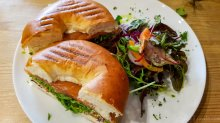 Cafe Class Salmon Bagel #1