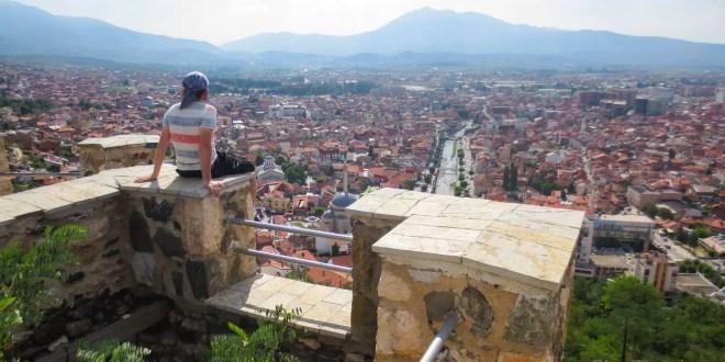 Selfie at Prizren Fortress #26