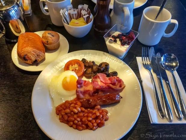 Village Hotel Breakfast