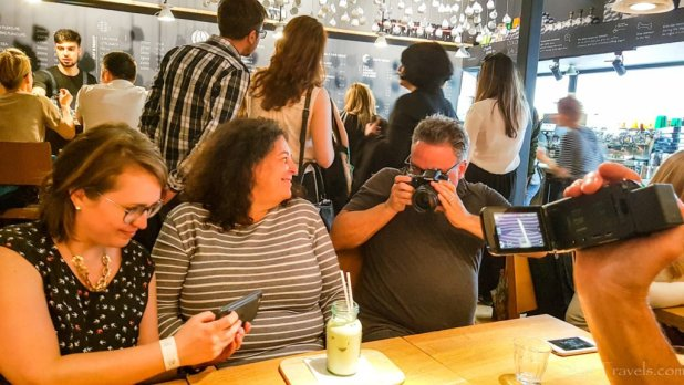 Bucharest Food Tour at Origo Coffee