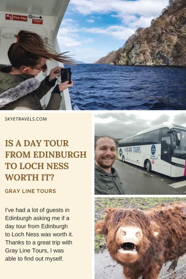 Edinburgh to Loch Ness Tour Pin