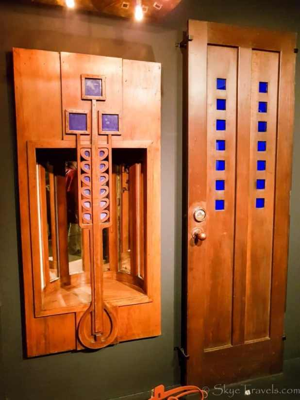 Mackintosh Bathroom Doors at the Museum