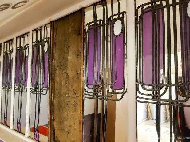 Mackintosh at the Willow Paneling