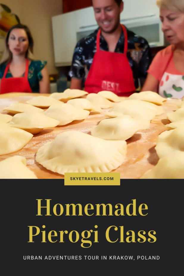 When I had the opportunity to take a homemade pierogi class with Urban Adventures during my Trablin conference in Krakow, I leapt at the chance! #Pierogi #Krakow #UrbanAdventure #CookingClass #Poland #PolishCuisine #VisitKrakow