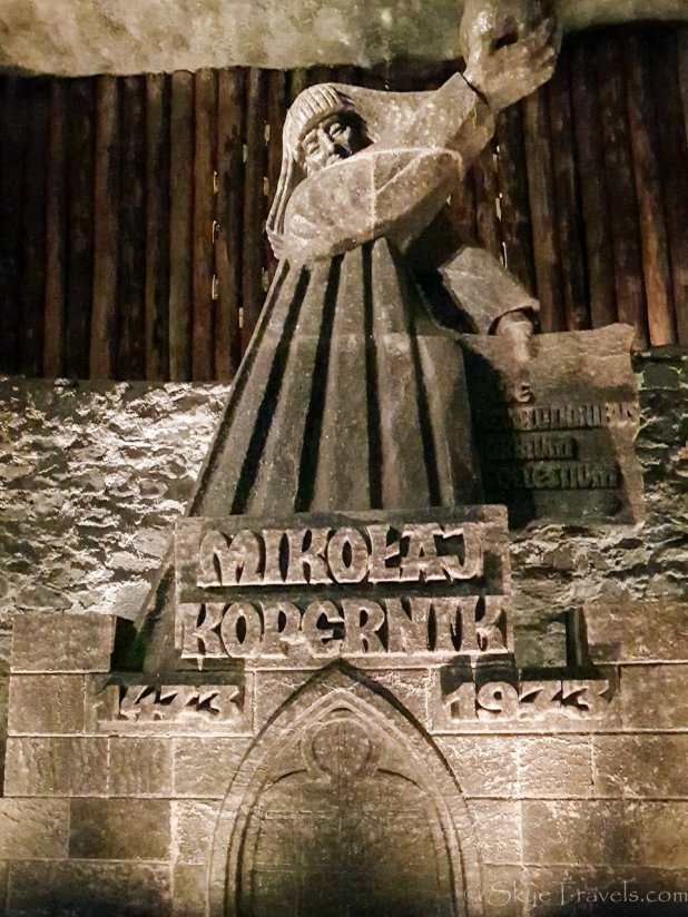 Salt Mine in Krakow Sculpture