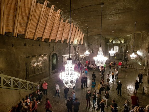Salt Mine in Krakow St Kinga Chapel