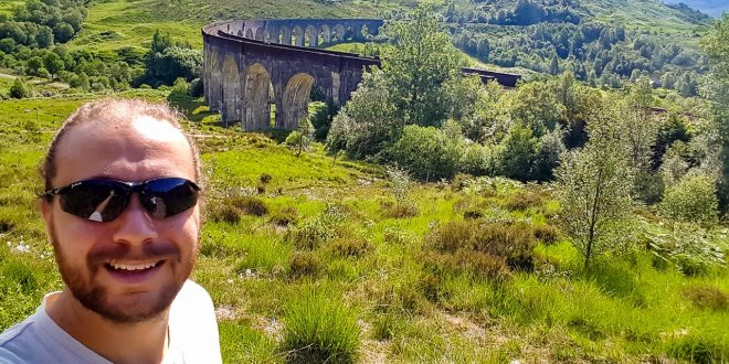 Selfie with Hogwarts Express