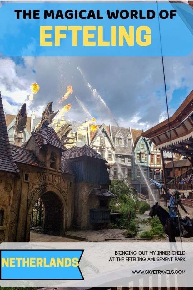 I love amusement parks. Before planning my trip to the Netherlands this summer, I\'d never heard of the Efteling Amusement Park. Of course I had to go. #Efteling #AmuseumentPark #RollerCoasters #Rides #DayofFun #Netherlands #VisitNetherlands