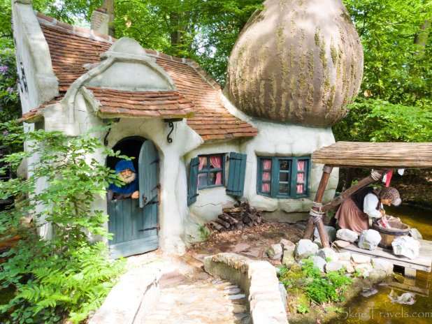 Gnome House in Efteling Fairytale Forest