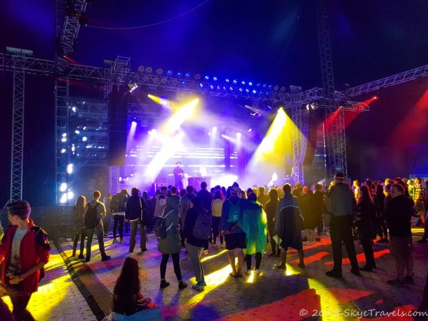 Colours of Ostrava Electronics Stage