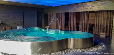 Hot Tub in Miura Hotel Spa