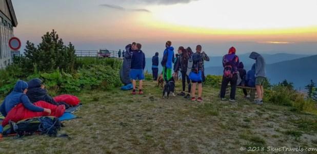 Sunrise on Lysa Hora