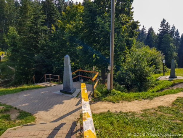 Trójstyk Three Obelisks