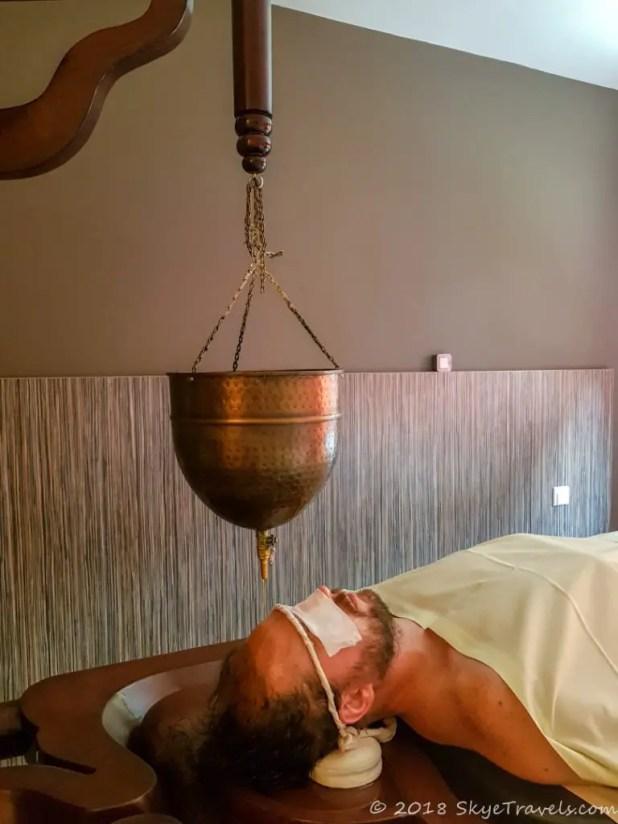 Shirodhara Ayurvedic Massage Massage