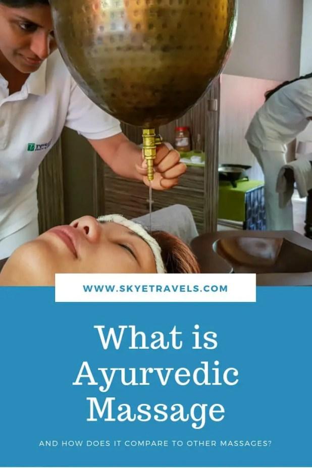 What is Ayurvedic Massage Pin