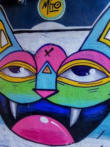 Graffiti Alley in Ghent #17
