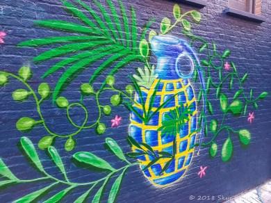 Graffiti Alley in Ghent #3