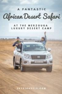 African Desert Safari Pin