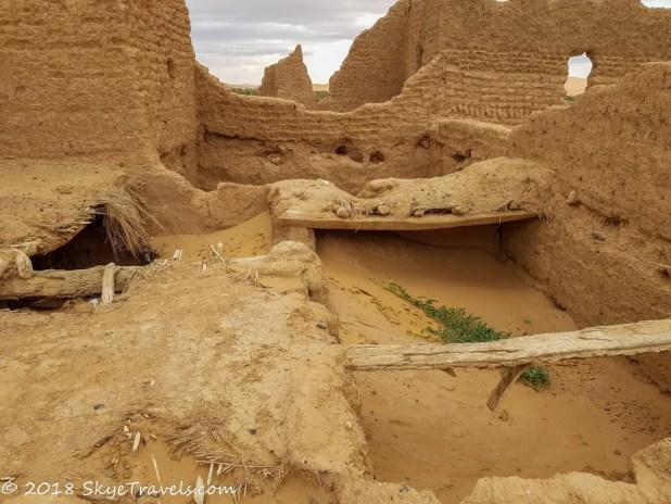 African Desert Safari Settlement Ruins