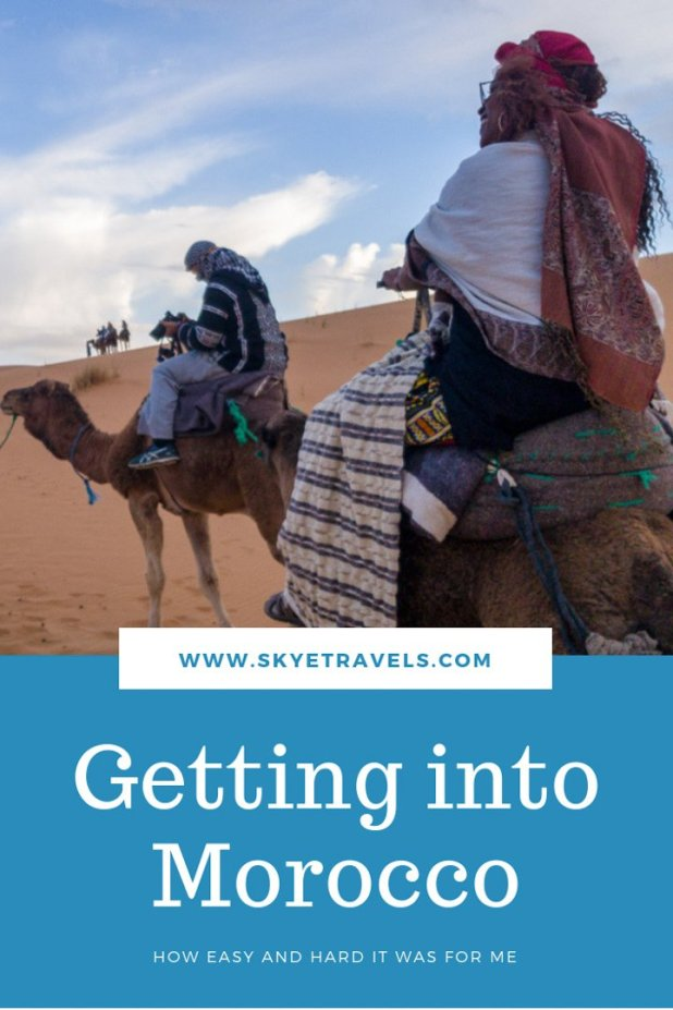Here\'s my story about getting into Morocco, my first country in Africa. It gives an idea of what to expect, how cheap it can be, what to avoid and a few tips. #VisitMorocco #TravelTips #Morocco #Africa