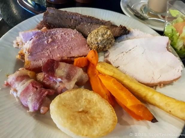 Sunday Roast at the Village Hotel
