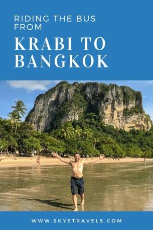 Riding the Bus from Krabi to Bangkok Pin #2