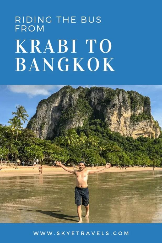 Thailand Transportation: Riding the Bus from Krabi to Bangkok
