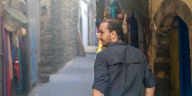 Selfie Traveling to Marrakech