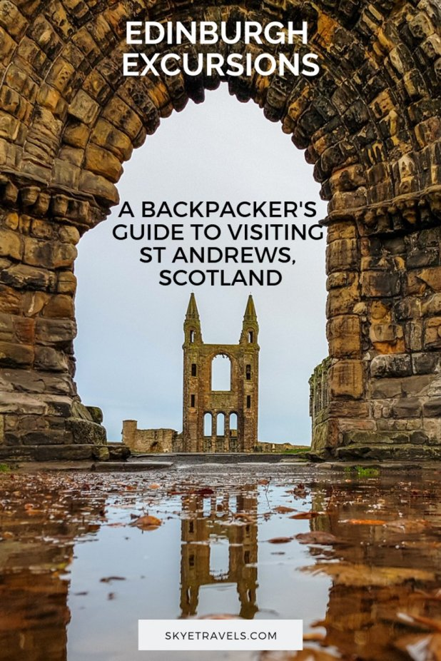 If you\'re tired of Edinburgh and want to see what a smaller Scottish village looks like, or perhaps you just really like golf, St Andrews is the place for you. #ExperienceMoreScotland #StAndrewsHostel #StAndrews #VisitScotland