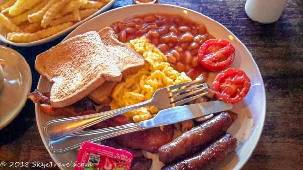English Breakfast at Bebeez Cafe #2