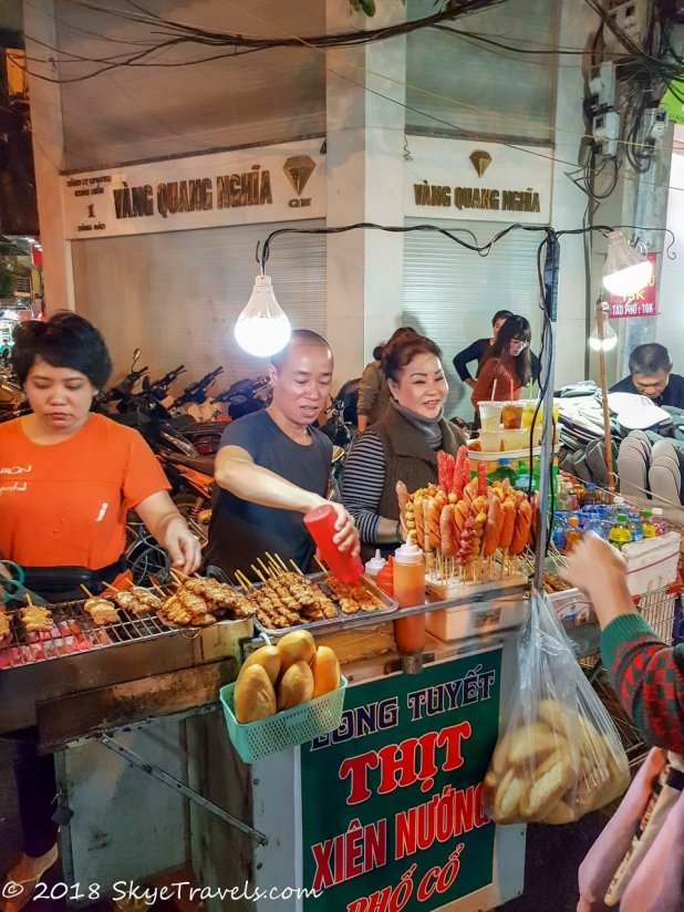 Hanoi Street Food Stand