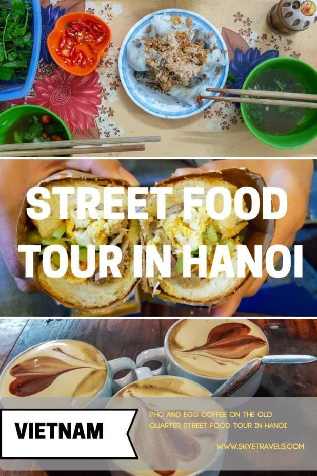 Do you like Vietnamese food? I was never a big fan, even after I arrived in Vietnam. Then I did the street food tour in Hanoi and now I\'m hooked. #Trazy_Thailand #FoodTour #Hanoi #Vietnam #Pho #EggCoffee #Trazy #TrazyMemories #TravelCrazy #TrazyVietnam