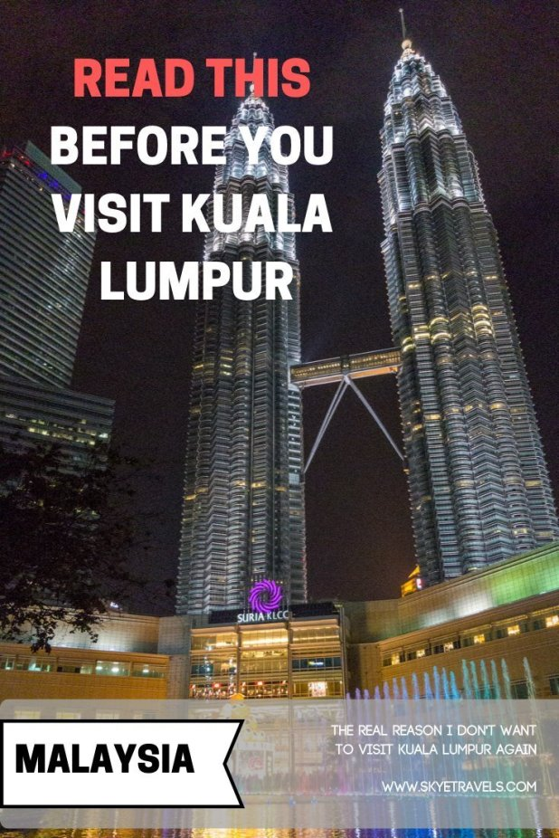 I feel like I need to give you a heads up of what to expect when you visit Kuala Lumpur, and how you can make the most of your time there. #VisitKL #KualaLumpur #Malaysia #TravelBlog