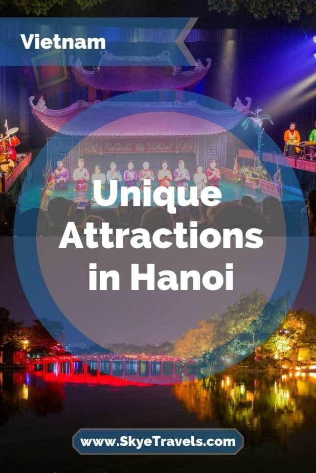 During my week in Vietnam this year, I only made it to a couple of the main attractions in Hanoi. Here are my favorite attractions unique to the city. #VisitHanoi #WaterPuppetShow #TrainStreet #BuddhistTemples #Vietnam