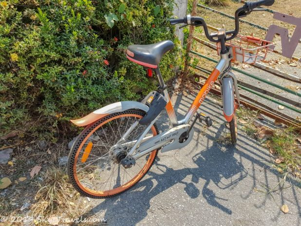 Mobike New Model in Chiang Mai