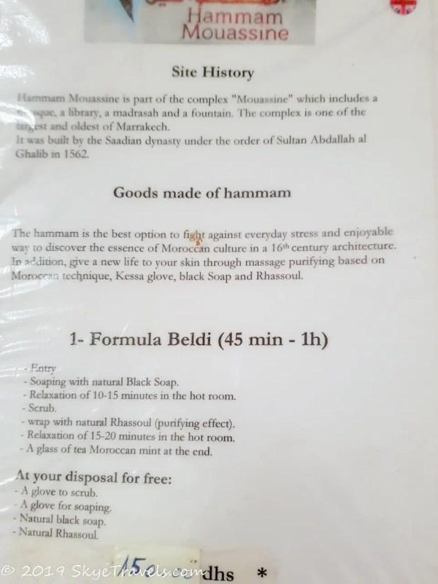 Hammam Mouassine Packages