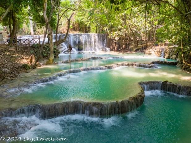 Kuang Si Lower Waterfalls HDR