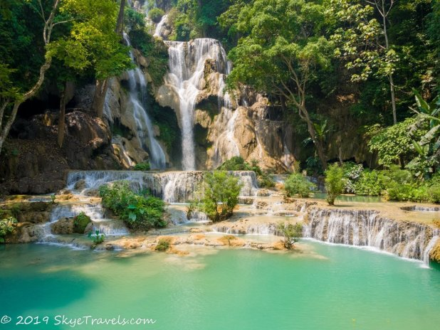 Kuang Si Upper Waterfalls HDR