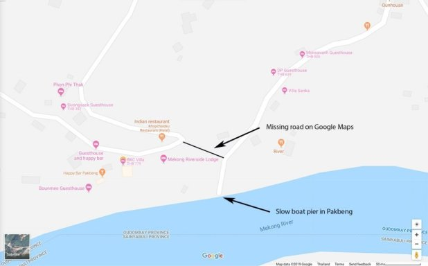 Pakbeng Map