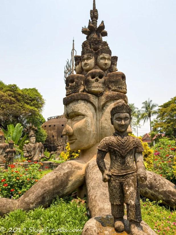 Buddha Park Statues #11