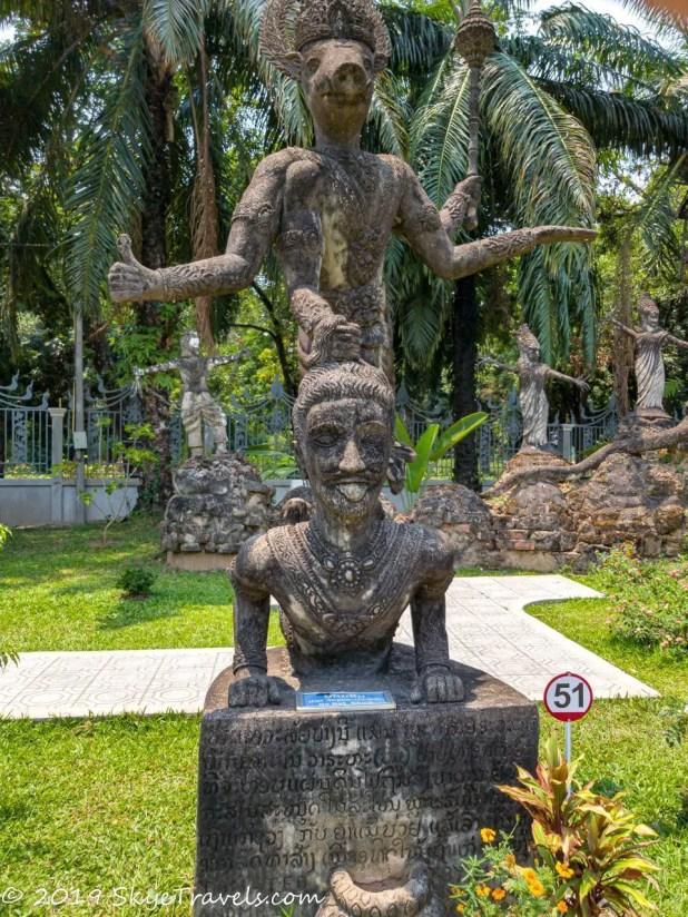 Buddha Park Statues #27