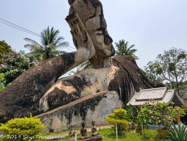 Buddha Park Statues #7 - Reclining Buddha