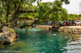 The Blue Lagoon in Laos