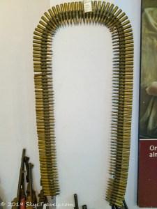 UXO Museum Ammo Belt