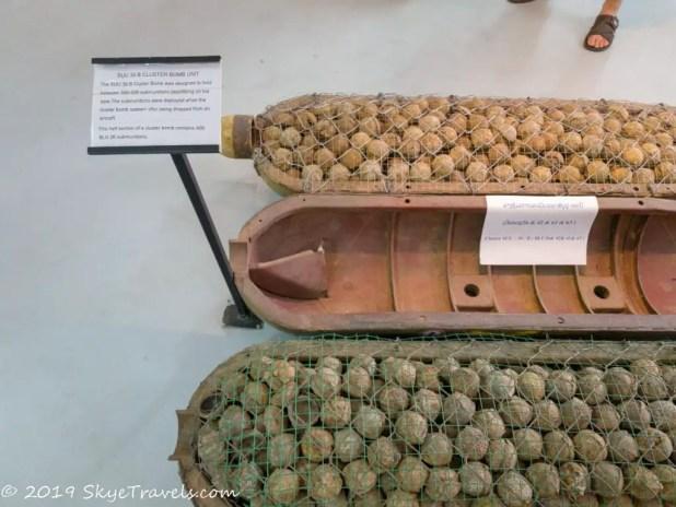 UXO Museum Cluster Bomb #1